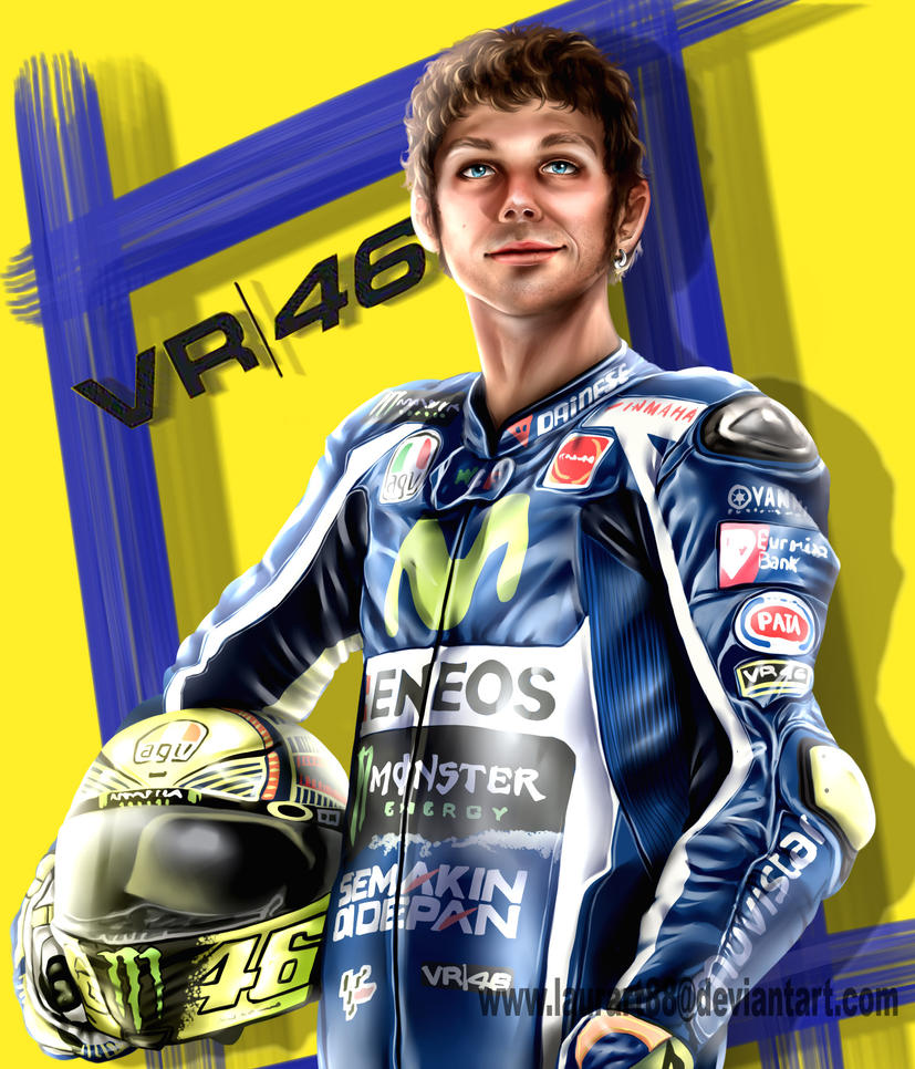 VR46 by Laurart88 on DeviantArt