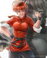 Ranma by Laurart88