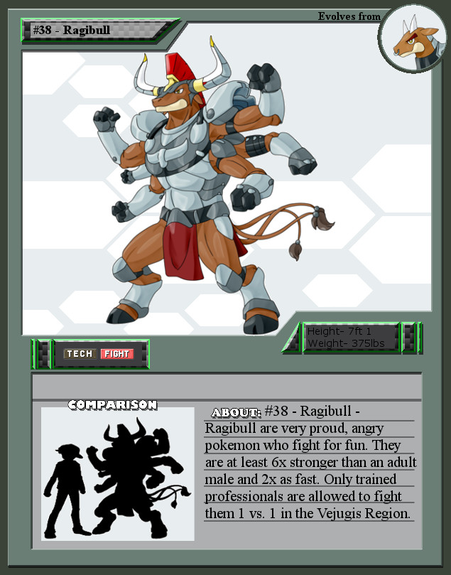 #38 - Ragibull by Laurelman