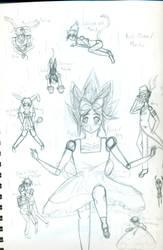 Yugi in Wonderland by ninja-freak13