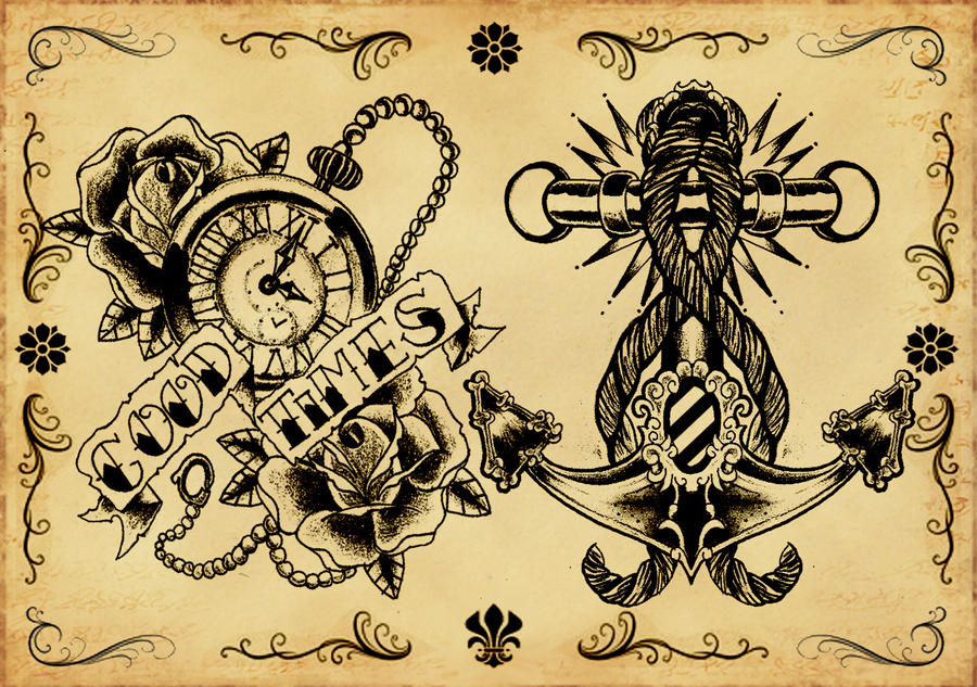 traditional tattoo flash wallpaper - photo #8