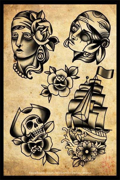 deep black sea tattoo flash by xfreakcorex on deviantart. Black Bedroom Furniture Sets. Home Design Ideas