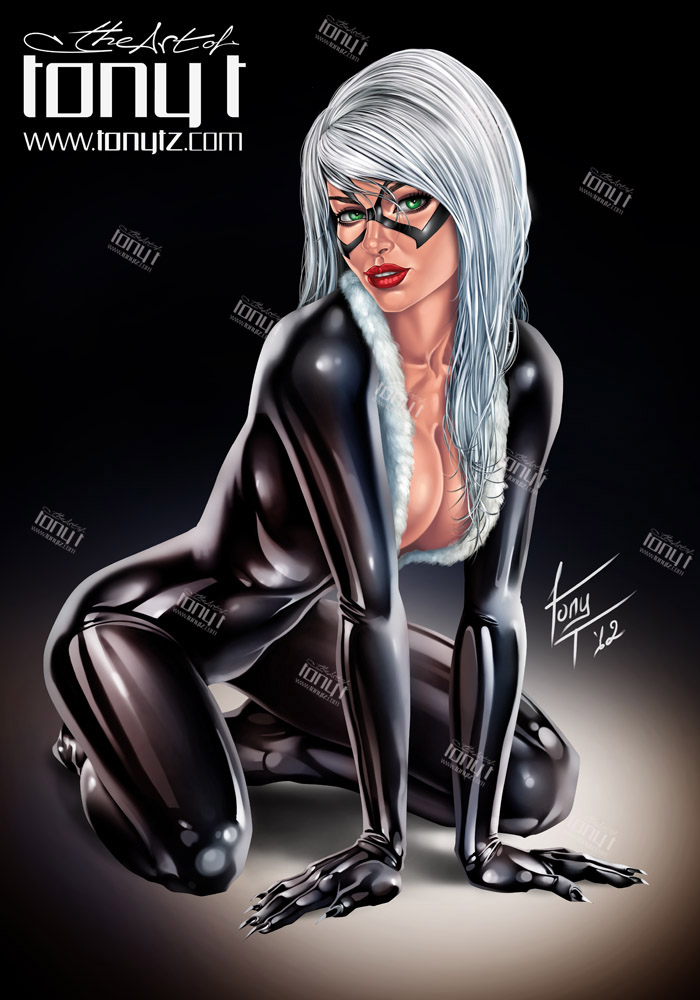 Black Cat by tony-tzanoukakis