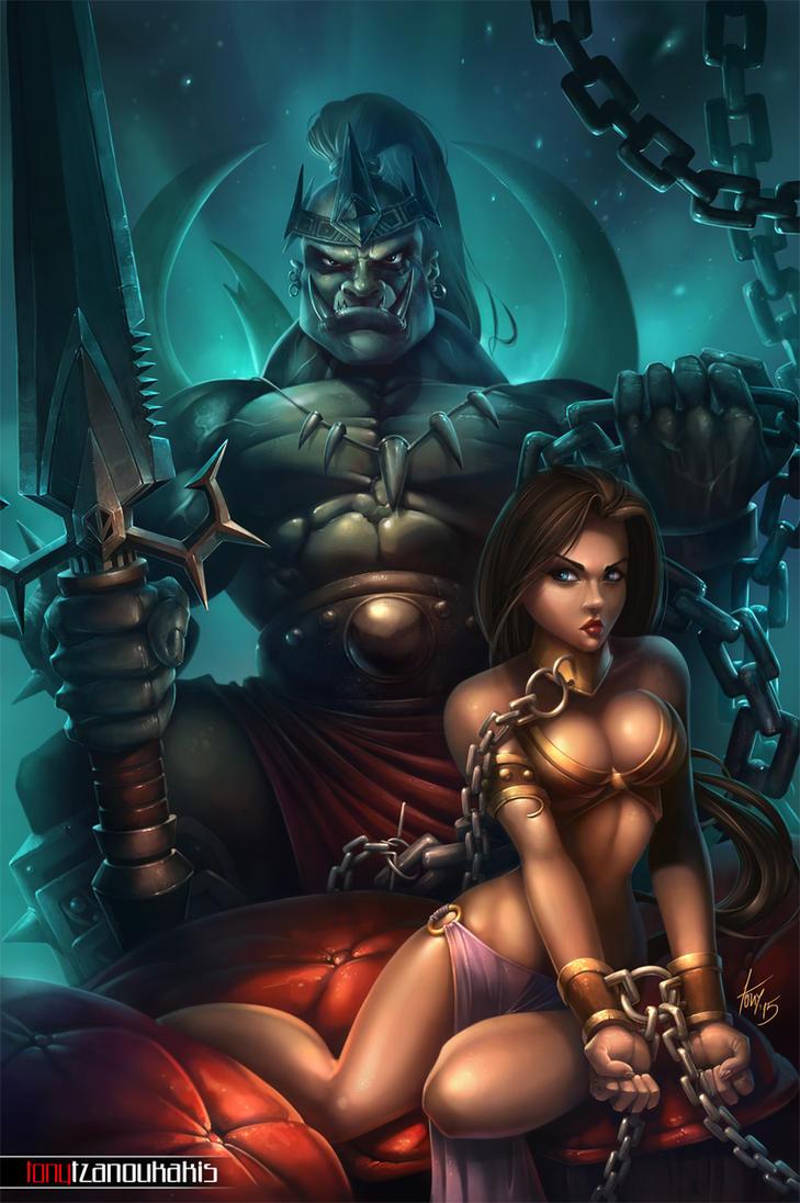 HAREM OF THE ORC KING by tony-tzanoukakis