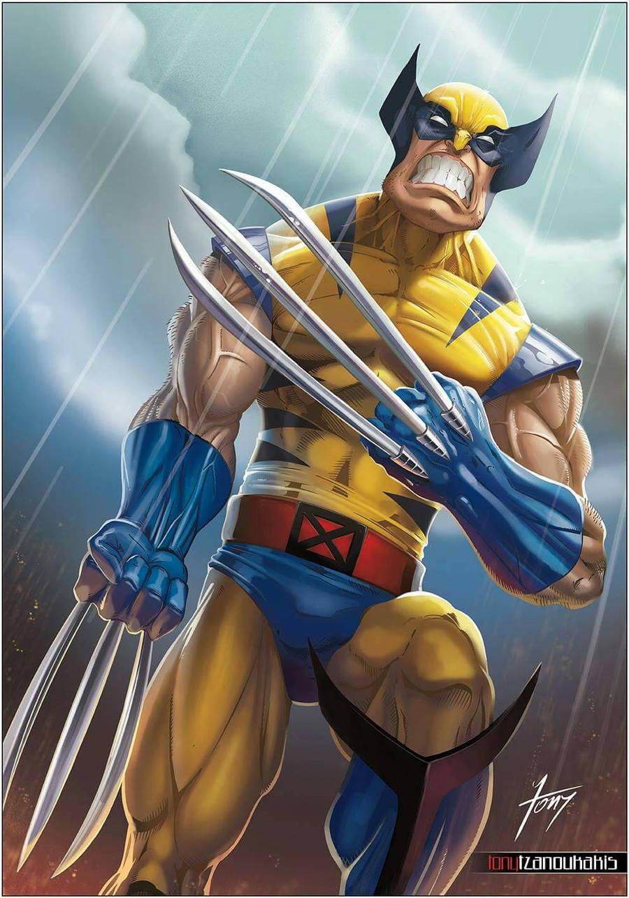 Wolverine by tony-tzanoukakis