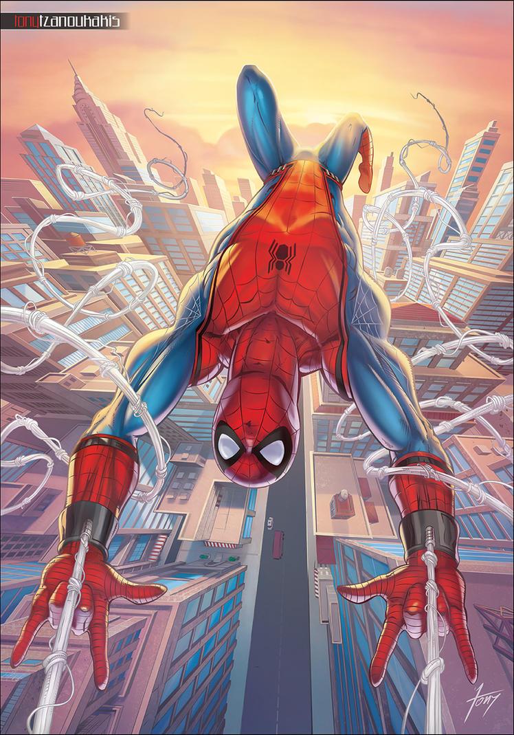 Spiderman homecoming by tony tzanoukakis on deviantart - Images de spiderman ...