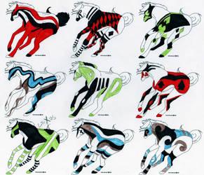 Horse Designs 11