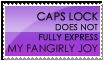 Fangirly Joy Stamp -- Purple by burnoutbright