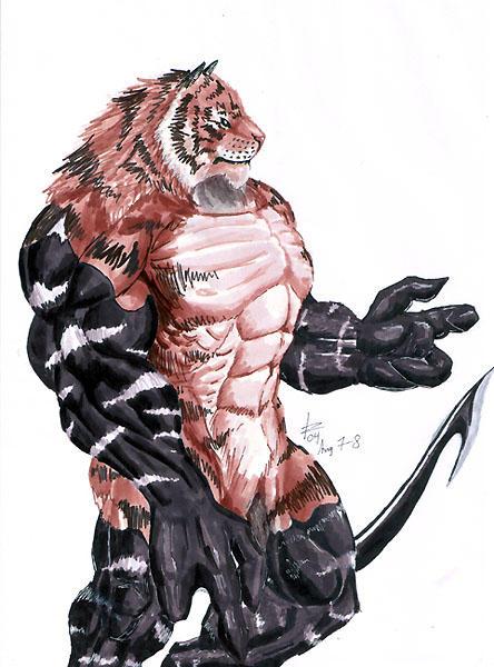 Hybrid Tiger - Symbiosis by rwolf