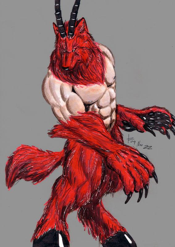 Demon Wolf by rwolf on DeviantArt - photo#43
