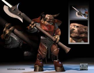Tauren Blizzard Contest by rwolf