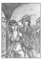 In the Castle by LadyDeddelit