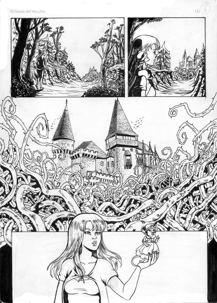 La foresta incantata page 6 by LadyDeddelit