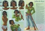 Commission 66- Leliina character sheet