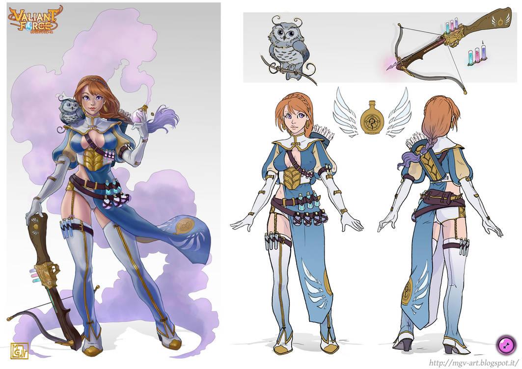 Valiant Force Entry - Sofia The Alchemist