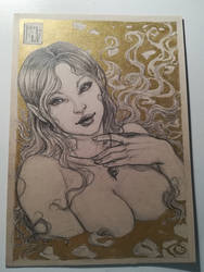 Kerri-Easter Gold by LadyDeddelit