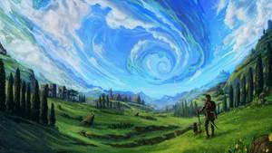 Helical world- Final Artwork