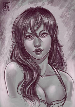 Just a sketch -Dedde