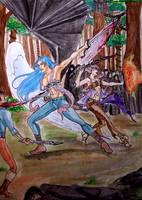 Battle-Dedde e Razy- by LadyDeddelit