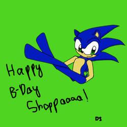 Happy B-day Shoppaaaa