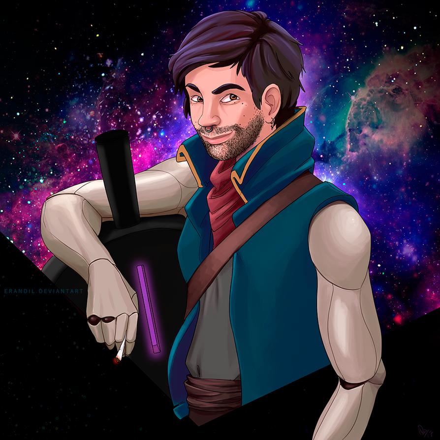 Space Pirate by erandil