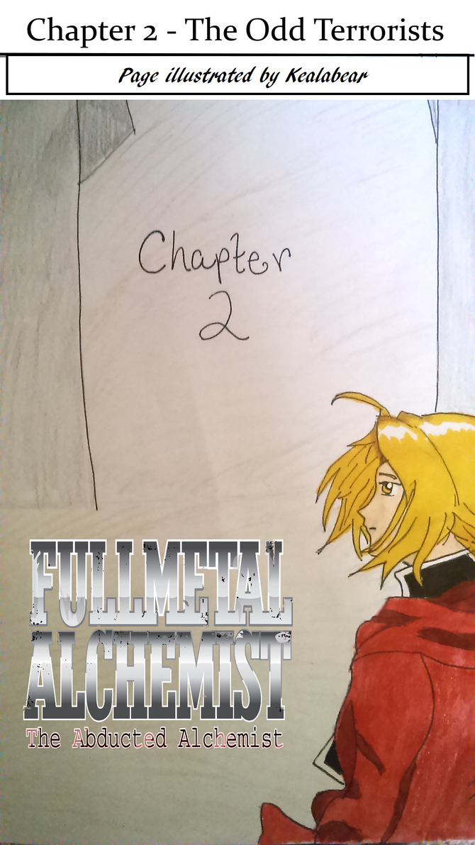 FMA: The Abducted Alchemist Ch 2 - Cover Page by salamangkiro