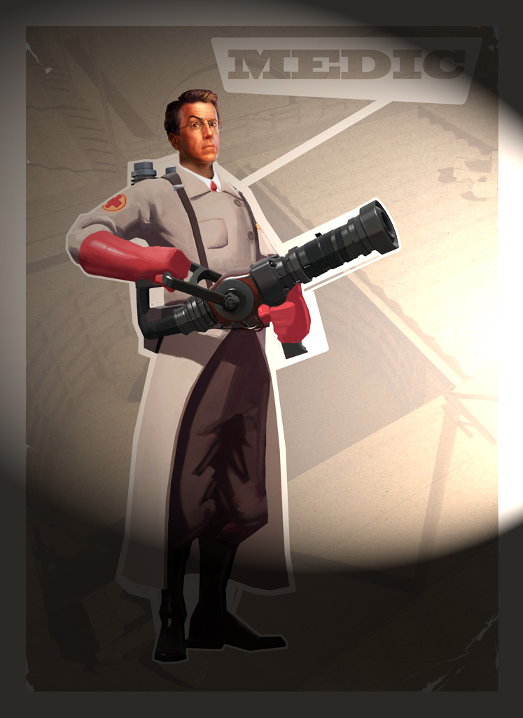 Colbert, the Medic by tcw295