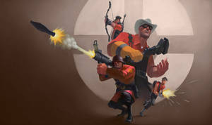 Tf2 Blu Turned Red by tcw295