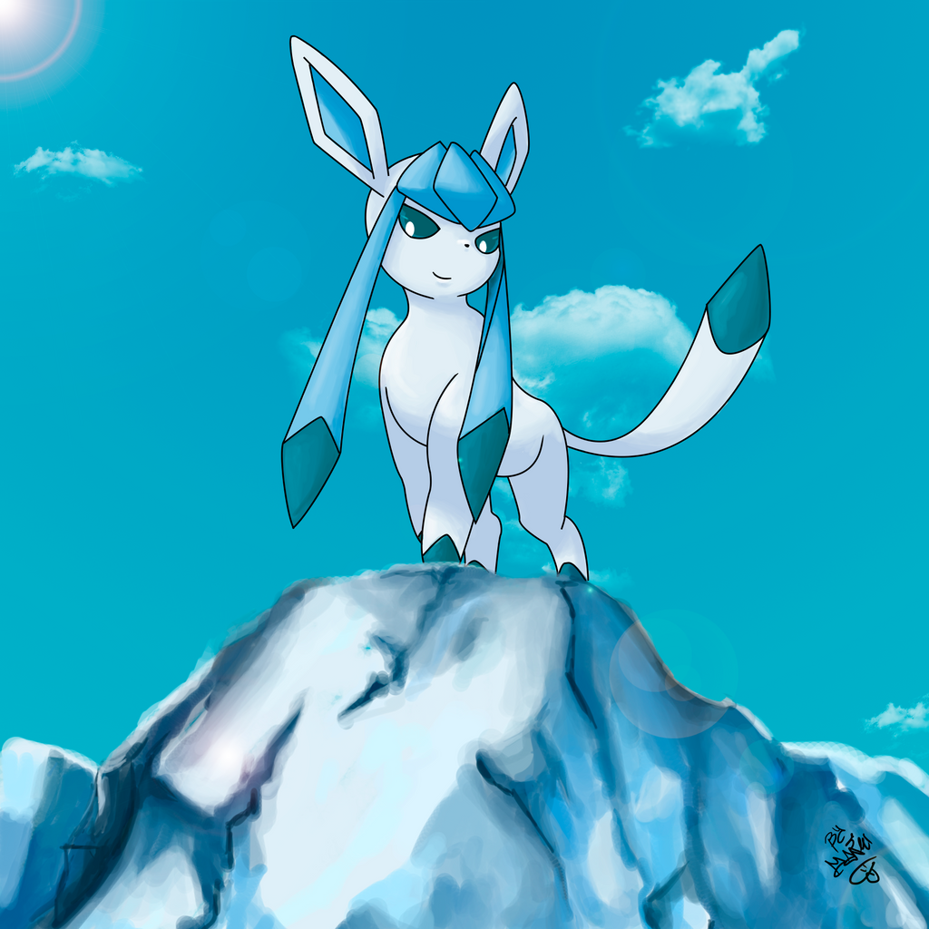 glaceon by manuxd789 on deviantart