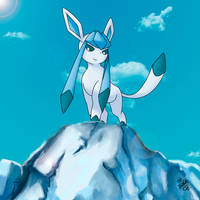Glaceon by Manuxd789