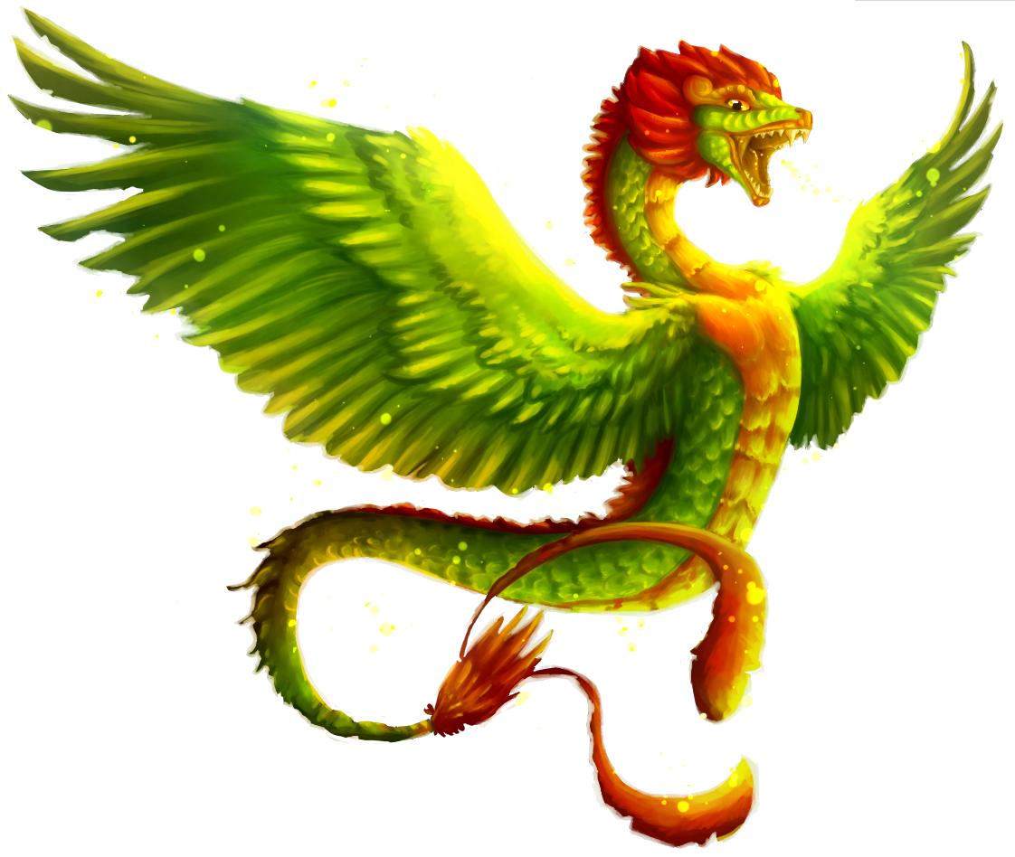 Quetzalcoatl by magichissi on DeviantArt