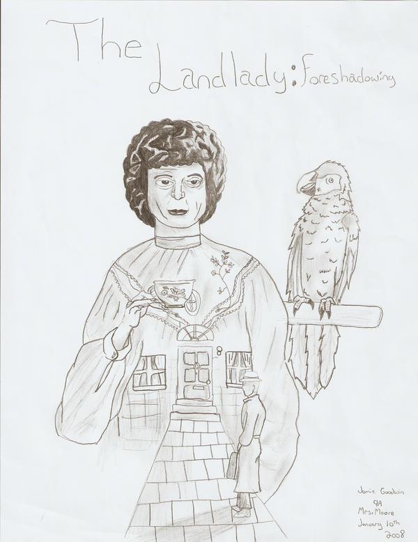 the landlady essay coverpage by hatefuljakro on the landlady essay coverpage by hatefuljakro