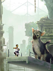 Trico, let's go there! by Lurxneat