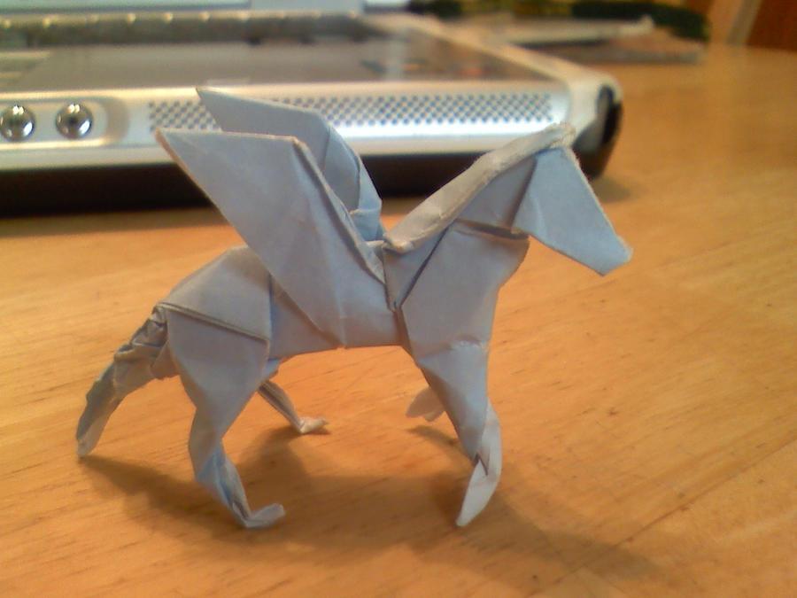 Origami Pegasus By Catastrophe093 On Deviantart