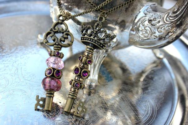 [royal] Key Necklaces by LadyGodivasOperation