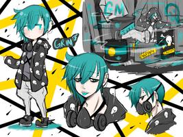Grim by bakaqeyama