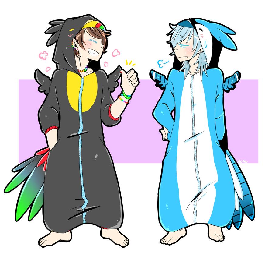 KIGURUMI IDIOTS by homosama