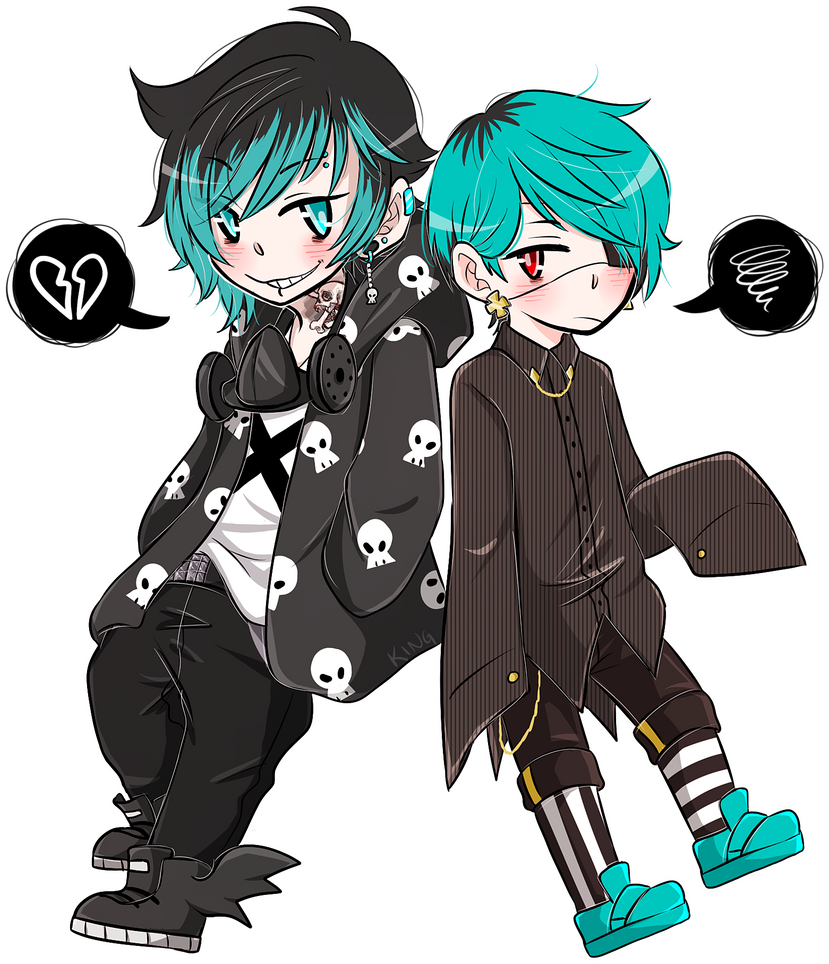 Grim and Toc-sin Revamp by bakaqeyama