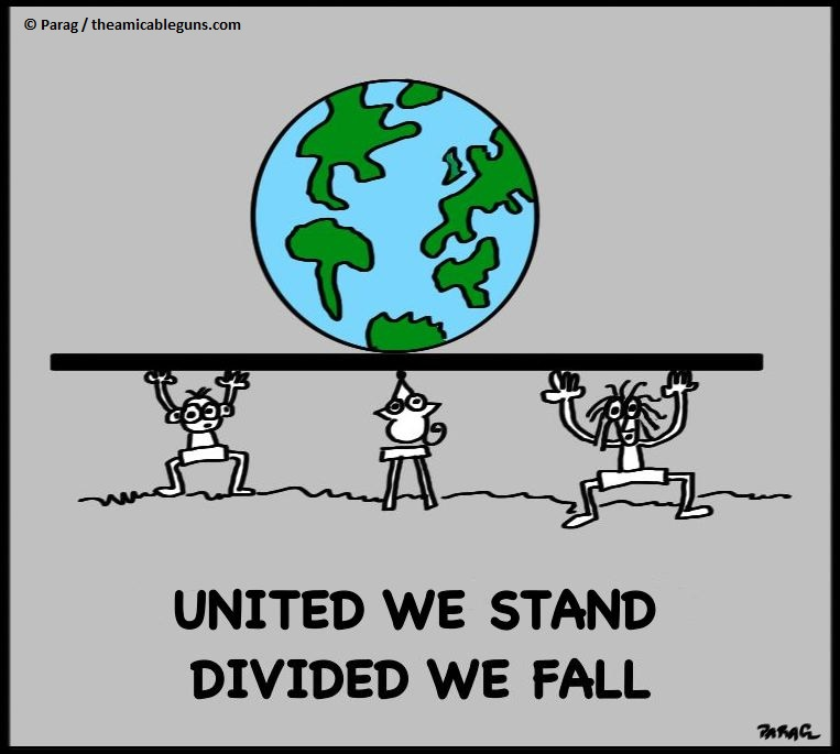 essay united we stand divided we fall