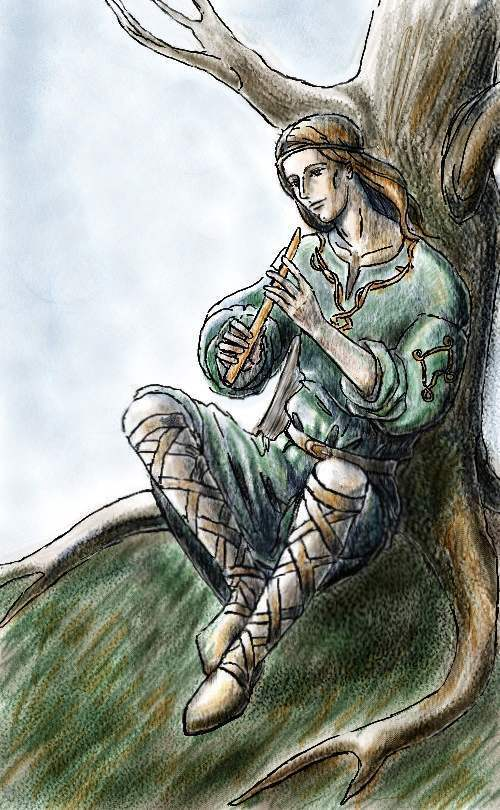 The Flutist of Doriath by Losse-elda