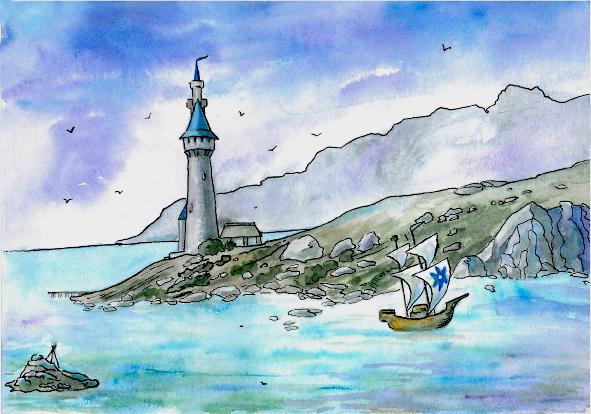The tower of Tar-Minastir by Losse-elda