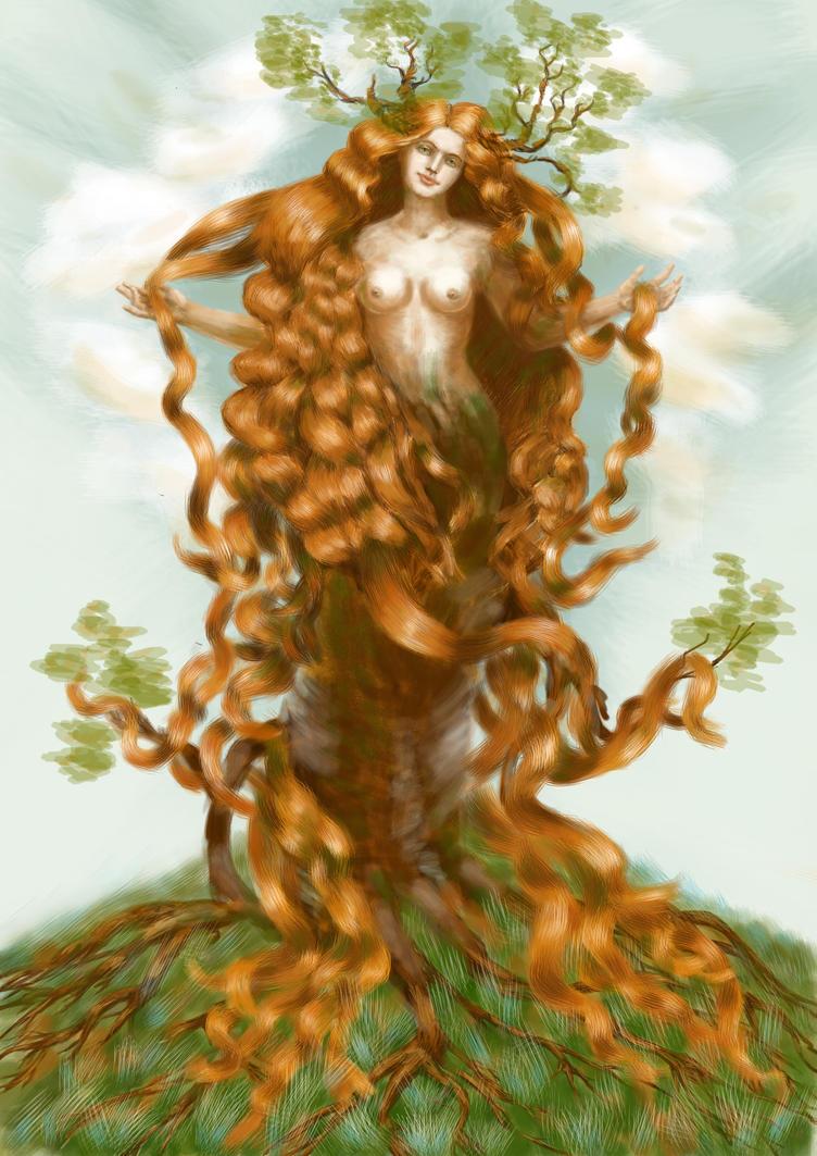 Yavanna by Losse-elda