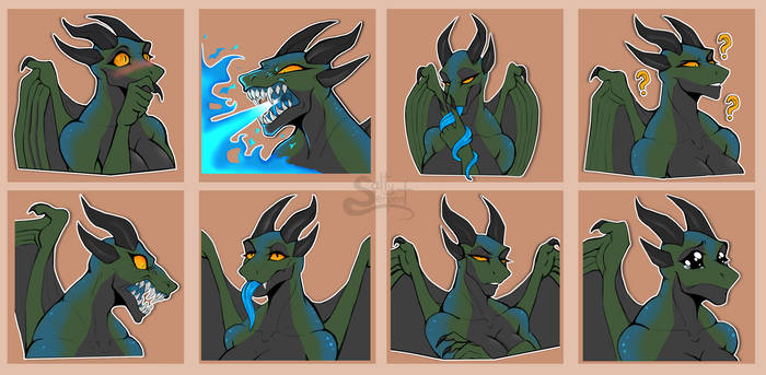 Sticker Pack commission