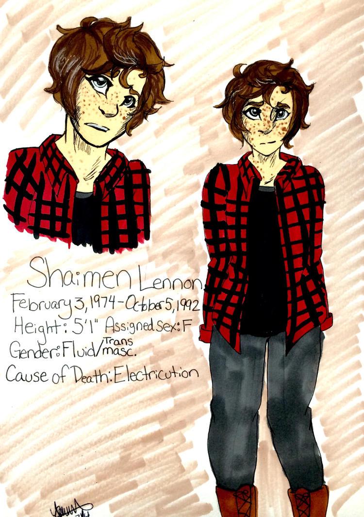 Shaimen Lennon ( OC) by StarshineTheCat1