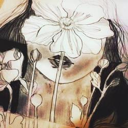 Flower Girl  by shaynaRoseLavoie