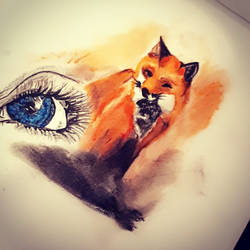 Fox and the random eye