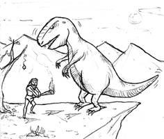 Prehistoric Fight