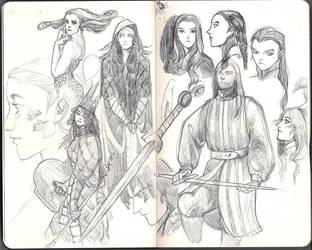 Sketchbook by Caithe