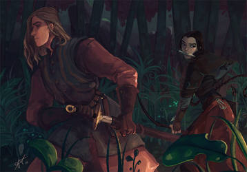 Lurking in the woods by Caithe