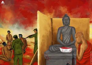 Terrorism of Buddhism